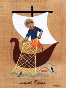 Pierre pêcheur de Galilée